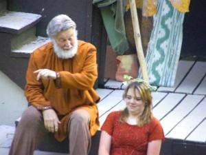 Prospero & Miranda - The Tempest