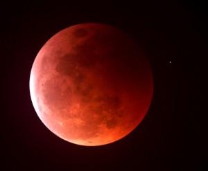 Blood moon - NASA photo