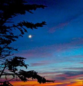 Sunset from Waterrock Knob