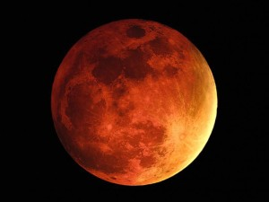 Blood moon NASA photo